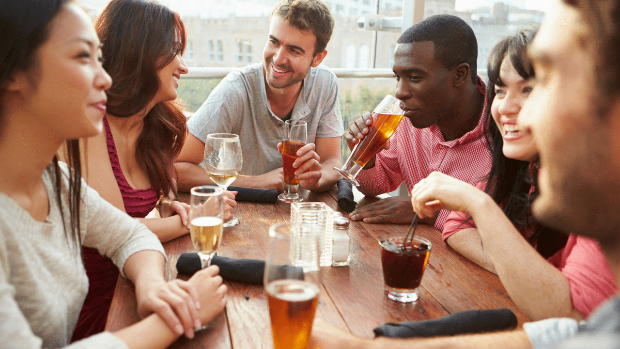 Social dating groups